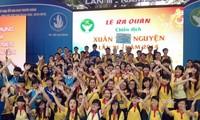 1.2万名学生参加2014年春季志愿者活动