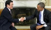 2013年越美关系迈出新发展步伐