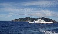 中国舰船再次出现在中日争议海域