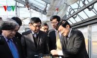 欢迎张晋创主席访日的正式仪式17日上午在日本皇宫举行