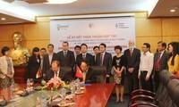 越德签署绿色增长和可持续利用资源环境合作协议