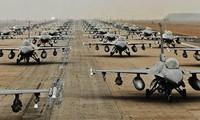 韩美进行最大规模的空中作战演习