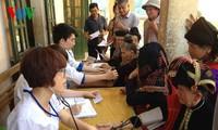 河内团市委在奠边省开展的青年志愿者活动启动