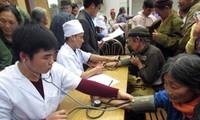芹苴市的为贫困者义诊志愿医疗队