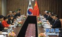 中国承诺促进朝鲜半岛无核化