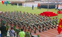奠边府大捷60周年纪念集会、阅兵式和群众游行全景