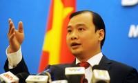 越南继续坚持采取和平措施迫使中国钻井平台撤出专属经济区和大陆架