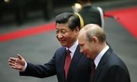普京访问中国