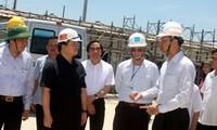 8个承包商返回河静省永昂经济区恢复工作