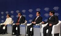 越南就阮晋勇在东亚峰会上的活动举行记者会