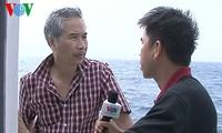 在黄沙群岛的外国记者:中国采取蛮横举动
