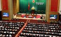 越南国会讨论信任调查和信任投票问题