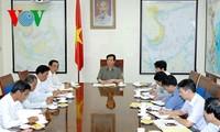阮晋勇与多乐省领导人座谈