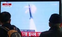 朝鲜继续发射导弹
