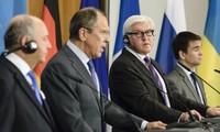 俄德法三国呼吁乌克兰立即停火