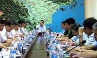 黄忠海副总理:要严密监视威马逊 (RAMMASUN)台风动向并主动应对