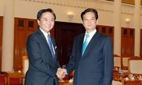 越南政府总理阮晋勇会见日本神奈川县知事