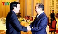 张晋创会见日本国会下议院预算委员会主席