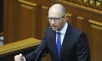 乌克兰议会拒绝接受总理亚采纽克的辞职