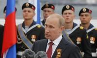 俄罗斯总统普京访问克里米亚