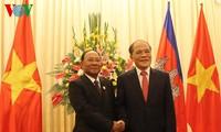 越柬高级会谈