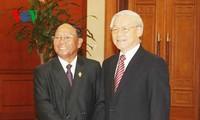 越共中央总书记阮富仲:进一步深化越柬传统友好与全面合作关系