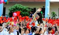 越南国家主席张晋创致信祝贺新学年