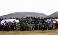 朝鲜敦促韩国放弃韩美军演