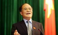 越南国会主席阮生雄出席第35届东盟议会联盟大会(AIPA)