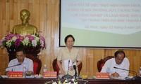 越南国家副主席阮氏缘与河南省选民接触