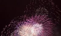 庆祝首都河内解放60周年:河内在30个地点举行烟花表演