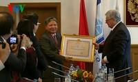 越南司法部长何雄强访问俄罗斯