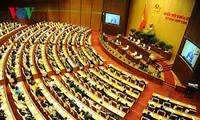 越南13届国会8次会议讨论多部法律草案