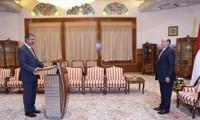 也门新政府宣誓就职