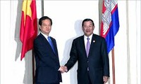阮晋勇总理出席越老柬发展三角区第8届峰会