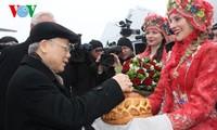 阮富仲总书记:越南希望推动与白俄罗斯的全面合作关系