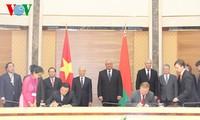越南和白俄罗斯发表联合声明
