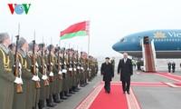 越共中央总书记阮富仲圆满结束对白俄罗斯的正式访问