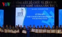 越南政府副总理阮春福出席第10届东盟职业技能大赛总结典礼