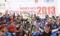 越南举行2014年国家志愿者日
