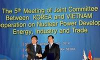 越韩政府间合作委员会第五次会议圆满结束