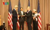 美国新任驻越大使承诺促进全面伙伴关系