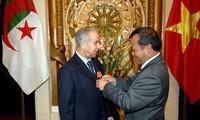 阿尔及利亚媒体:进一步加强越阿经济关系