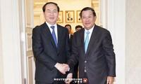 越南和柬埔寨同意紧密合作打击所有敌对势力