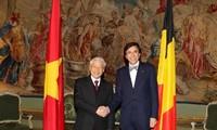 比利时国王菲利普重视与越南的合作关系