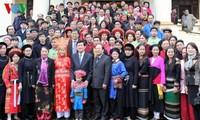 新春临近增强全民大团结力量
