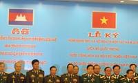 越柬两国国防部加强合作