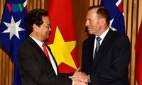 澳大利亚媒体大量报道阮晋勇的访问行程