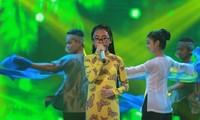 """河内团市委举行2015年第一次""""民歌之星""""歌唱比赛决赛"""