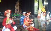 越南电视台举行2015年越南民歌节南中部赛区比赛